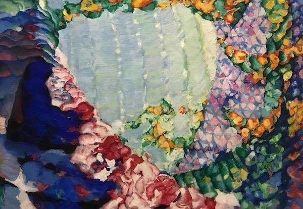 Zeuxis galerie d'art en visite au Grand Palais pour l'exposition Kupka