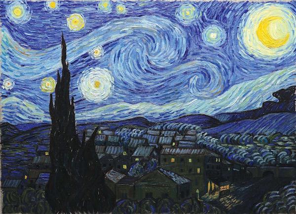 La Nuit étoilée De Vincent Van Gogh Amelie Maison Dart