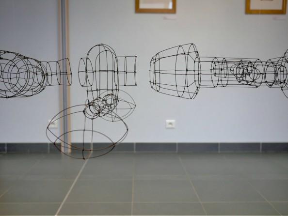 Choun Vilayleck Zeuxis Exposition Sculpture