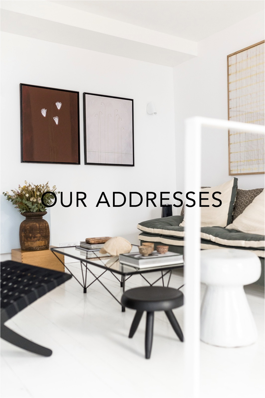 Our addresses